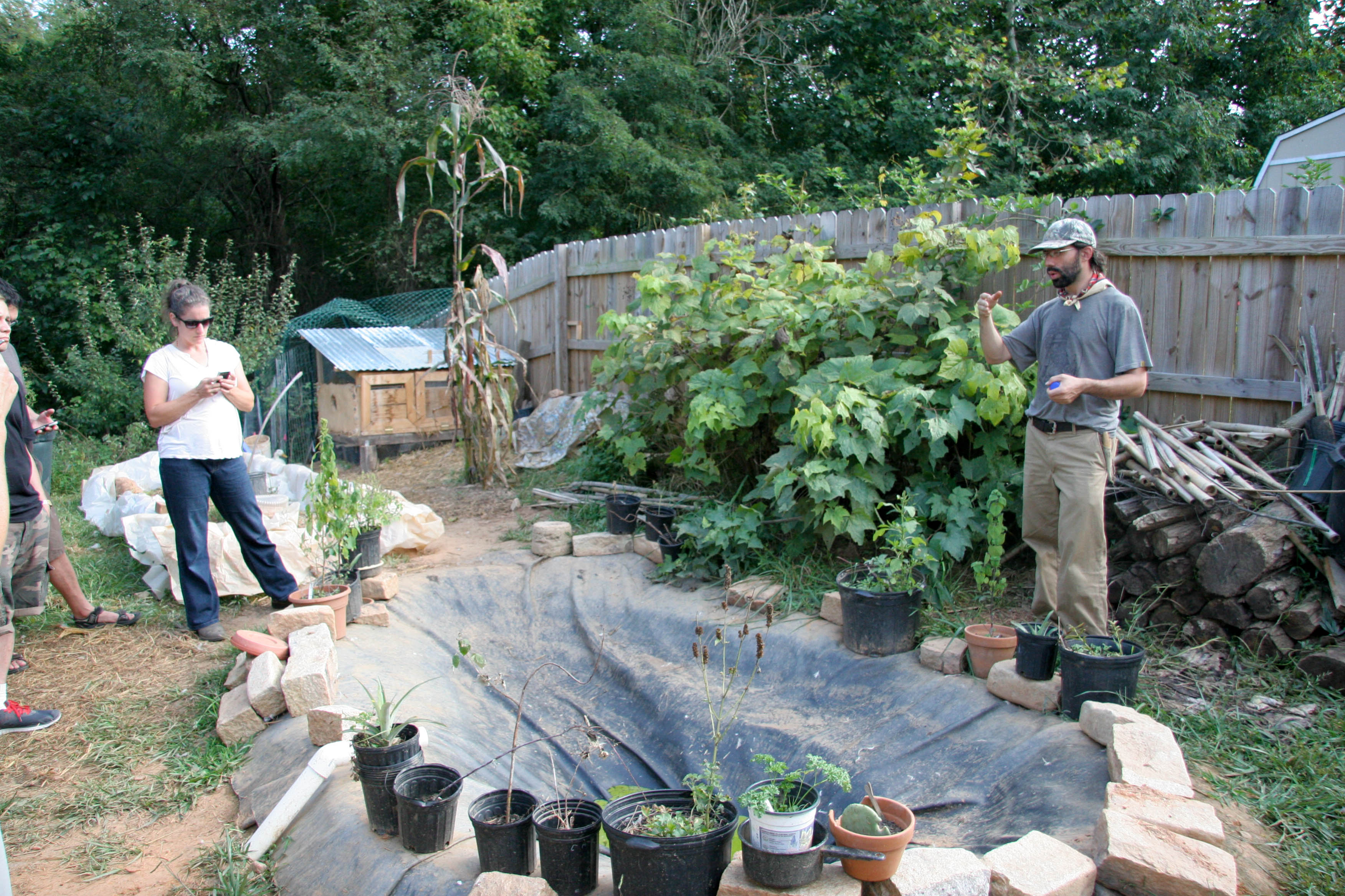 permaculture tour in asheville gather and grow