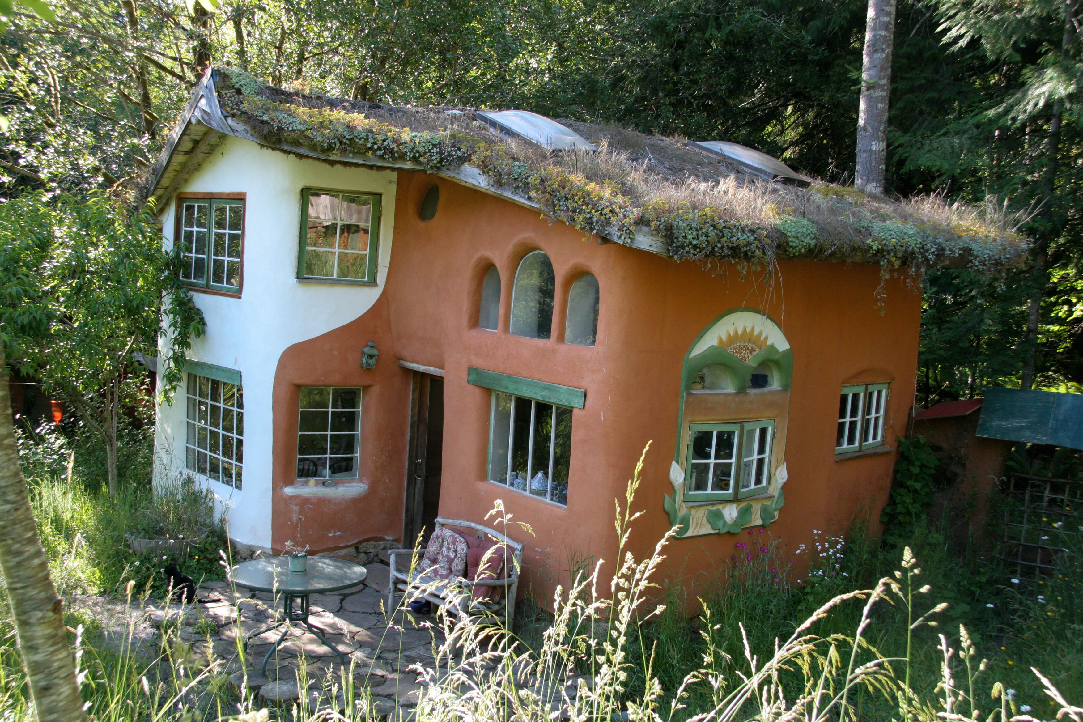 How much does a cob house cost gather and grow for How much to build an a frame house